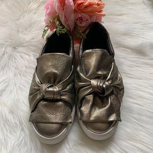J/SLIDES Shoes - Metallic J/Slides size 8